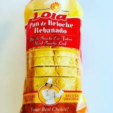 Brioche / Pao Rabanado  (Long Shelf Life) (2 Breads)