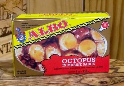 Albo Octopus Stewed Tomato (115 gr)