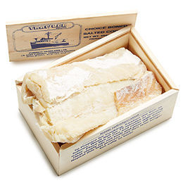 Dry Salted Cod Fish Boneless / Skinless Fillets + Free Shipping on Entire Site
