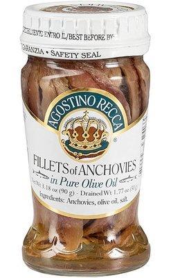 Agostino Recca Anchovies in Olive Oil (90 gr)