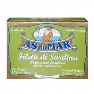 Sardines Boneless Skinless in Olive Oil  (105 gr)