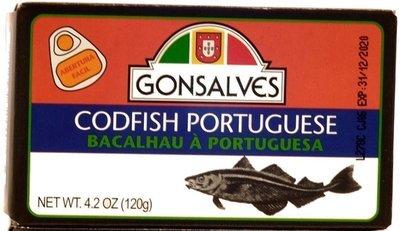 Gonsalves Salted Cod (120 gr)
