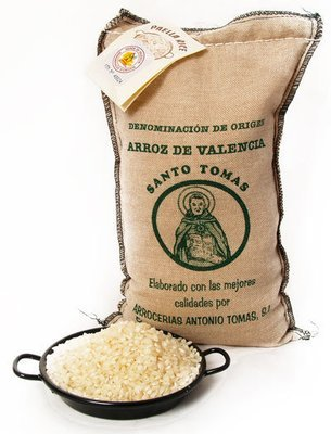 Paella Rice Santo Tomas Bomba D.O. 1/2 Kilo