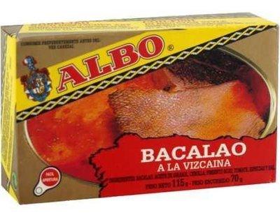 ALBO Bacalao A La Vizcaina (120 gr)