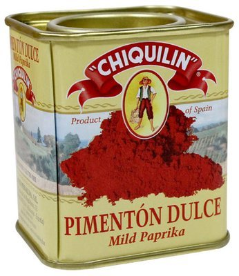 Paprika Tin Sweet/ Hot/ or Smoked / Pimentao (75 gr)