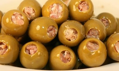 Manzanilla Green Olives Pitted & Stuffed 300gr