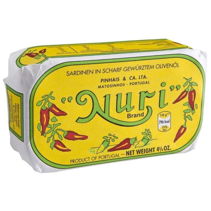 Nuri Portuguese Spiced Sardines in Olive Oil (3.5 oz)
