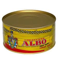 Albo White Chunk Tuna in Olive Oil BIG CAN (1,190 gr)