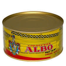 Albo White Chunk Tuna in Olive Oil BIG CAN (1,190 gr)