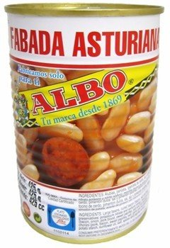 Albo Asturian White Bean Stew / Fabada Asturiana 425g