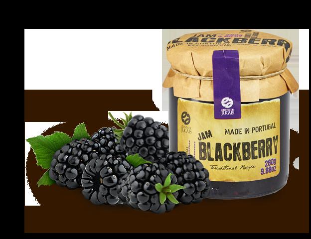 Blackberry (Amora) Jam / Doce 280gr (Quinta Jugais)