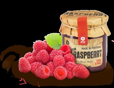Raspberry (Framboesa) Jam / Doce 280gr (Quinta Jugais)