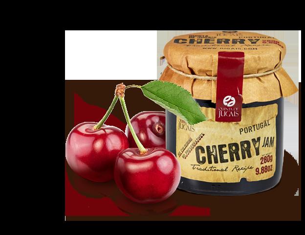 Cherry (Cereja ) Jam / Doce 280gr (Quinta Jugais)