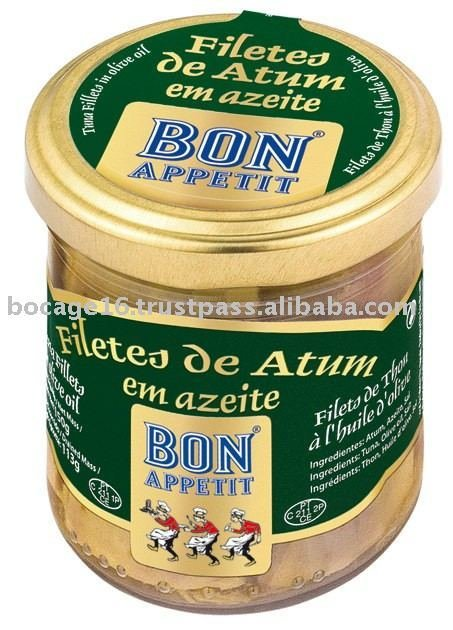 Bon Appetit Tuna Fillet in Olive Oil (250 gr)