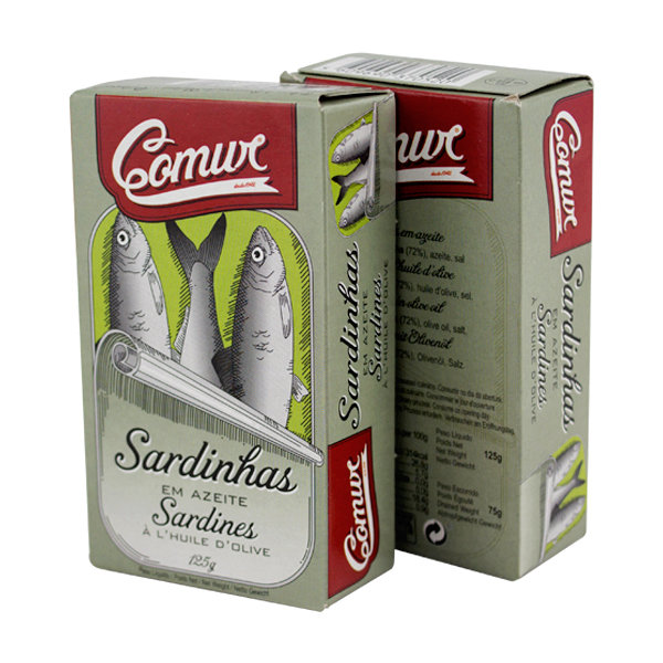 Comur Sardines in Olive Oil (120 gr)