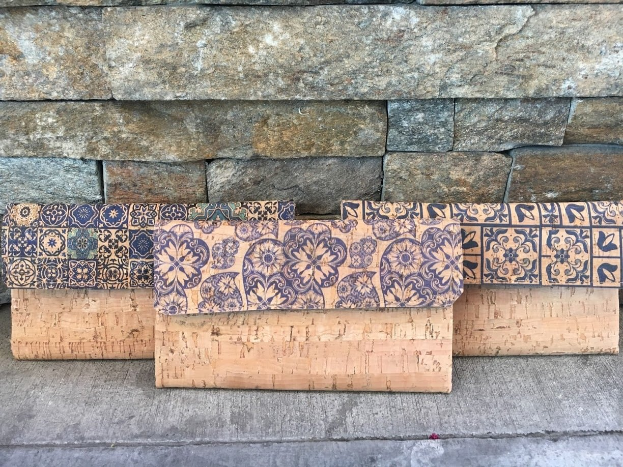 Printed Wallet (Cork)
