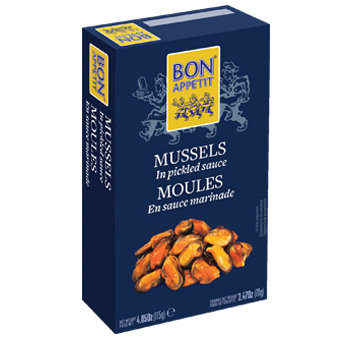 Bon Appetit Mussels in Pickled Sauce (120 gr)