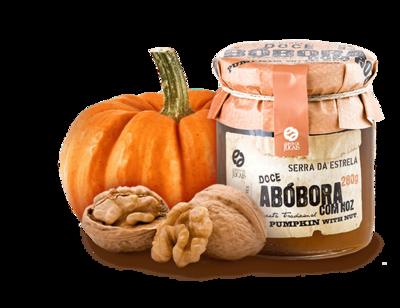 Pumpkin Jam w/Walnuts Doce 280gr (Quinta Jugais)