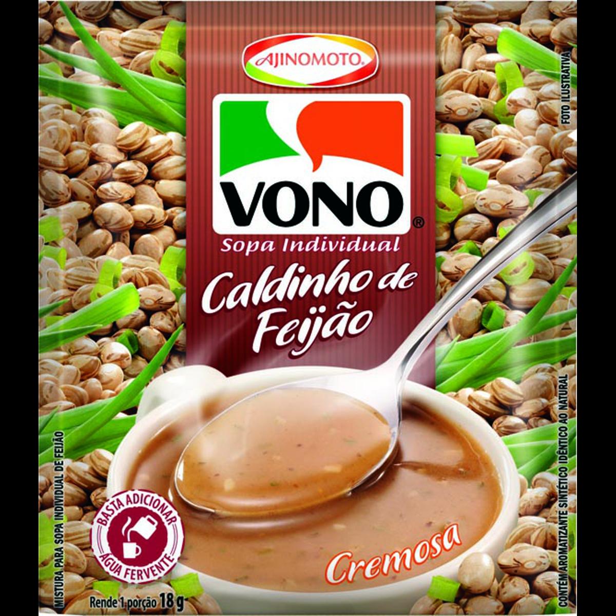 Caldo Feijao (Instant Soup) by Vono 17gr