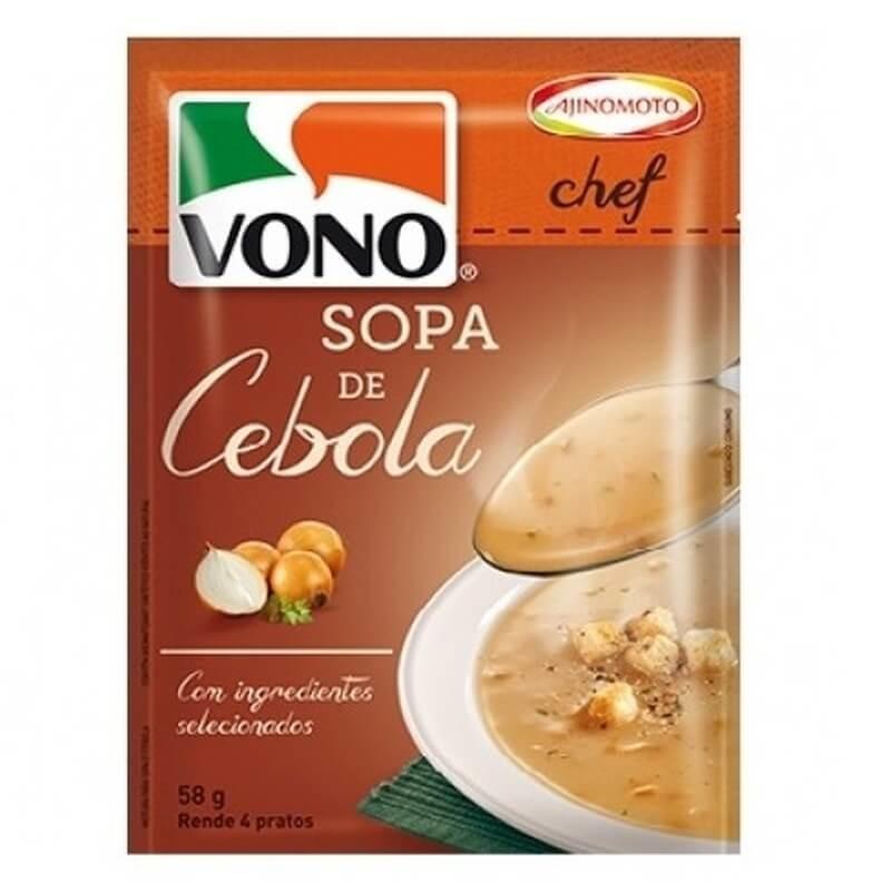 Caldo Cebola (Instant Soup) by Vono 58gr (4 Portions)