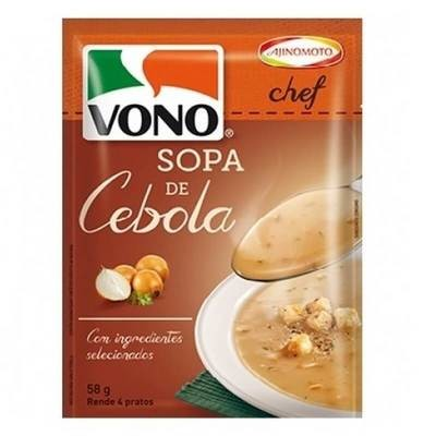 Caldo Cebola (Instant Soup) by Vono 58gr (4 Portions)