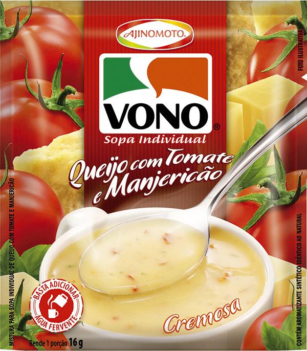 Cheesy Tomato & Basil (Instant Soup) by Vono 17gr