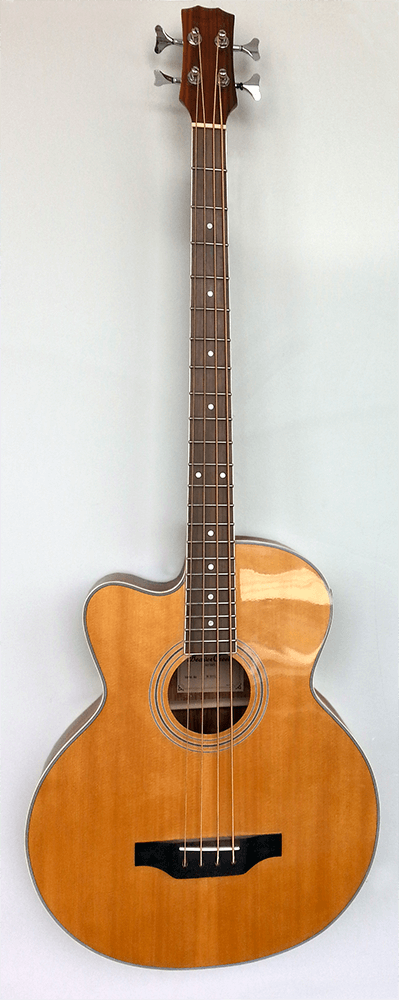 Beaver Creek - Left Handed Acoustic/Electric Cutaway Bass
