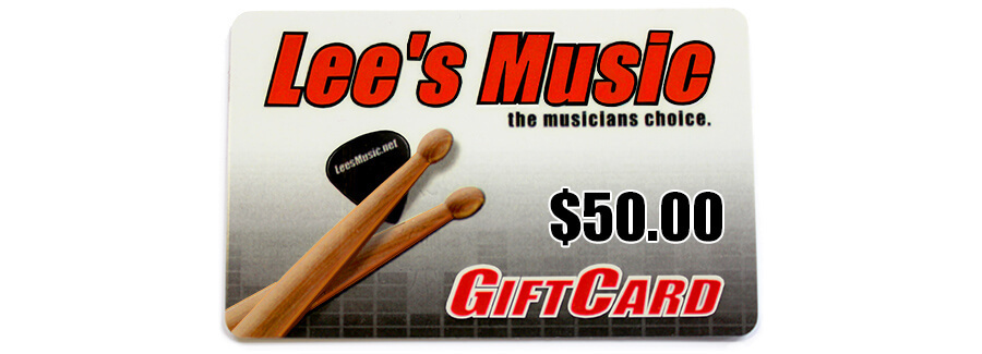 Lee's Music Gift Card - $50