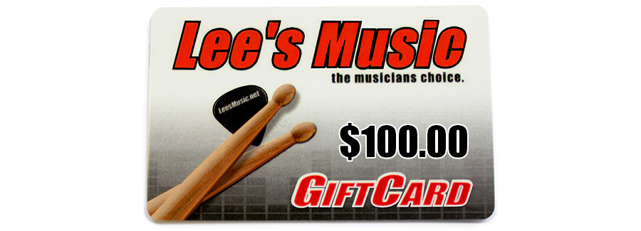 Lee's Music Gift Card - $100 22924