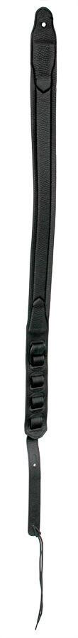 Black Padded Leather-style Strap SPFL40BLK