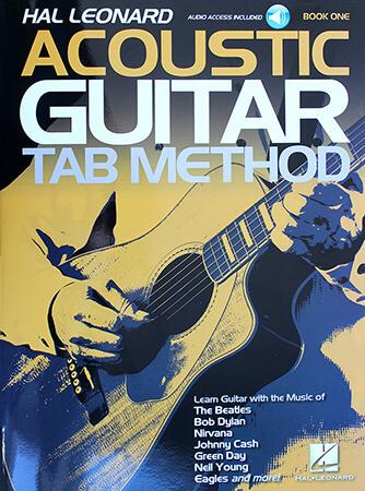 Hal Leonard Acoustic Guitar Tab Method