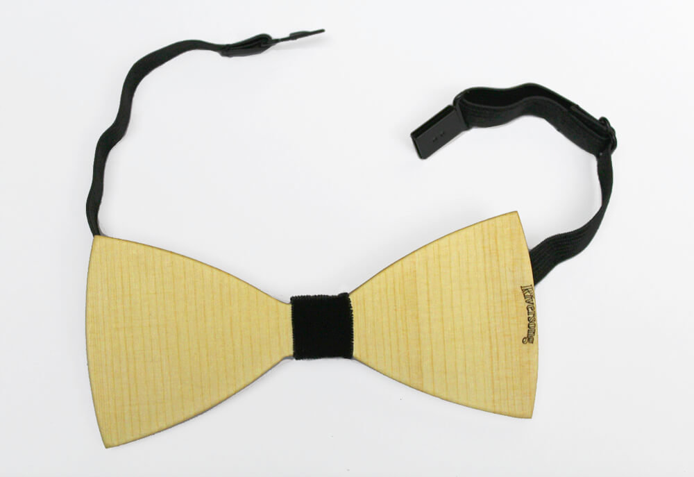 Riversong Wooden Bow Tie 22938