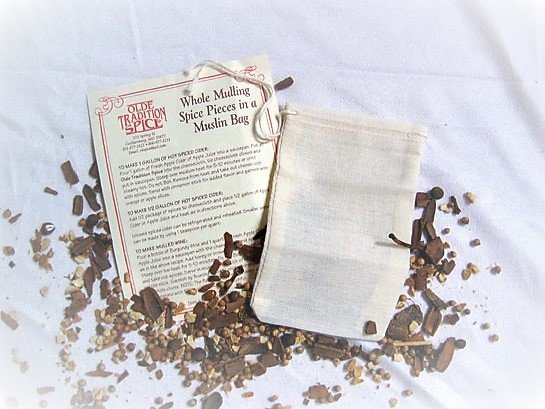 Whole Mulling Spice Pieces in a Bag 104