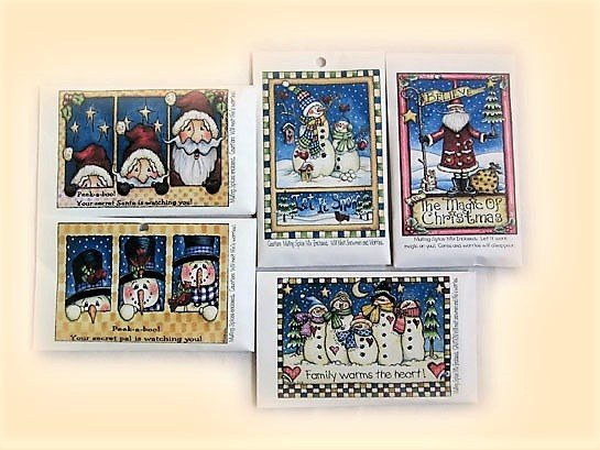 Christmas Holiday Pack of 5 Cards 119