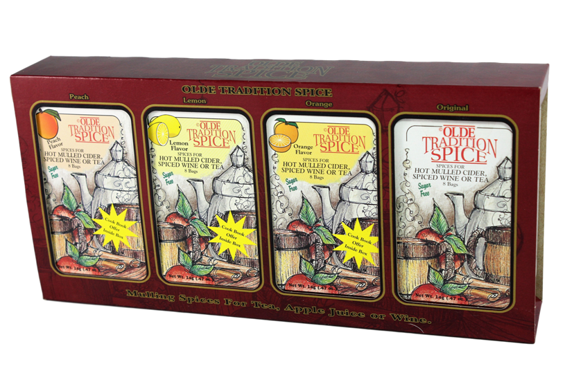 Flavored Mulling Spices Gift Box