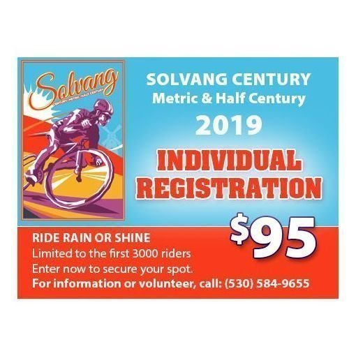 INDIVIDUAL REGISTRATION   (Lunch not included!)