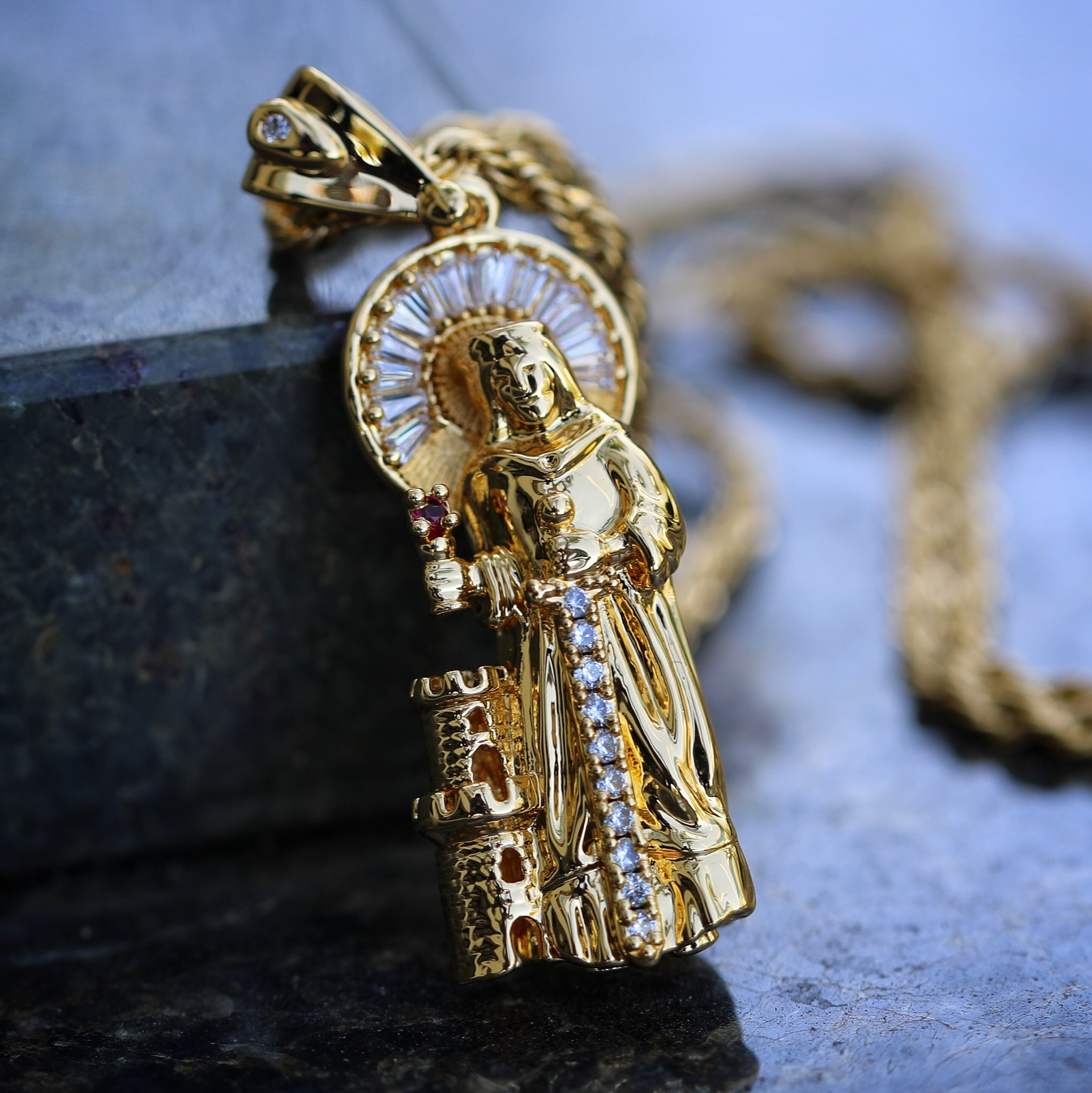 Mens large gold jesus piece pendant chain necklace mens hip 0510 mens large gold jesus piece pendant chain necklace aloadofball Image collections
