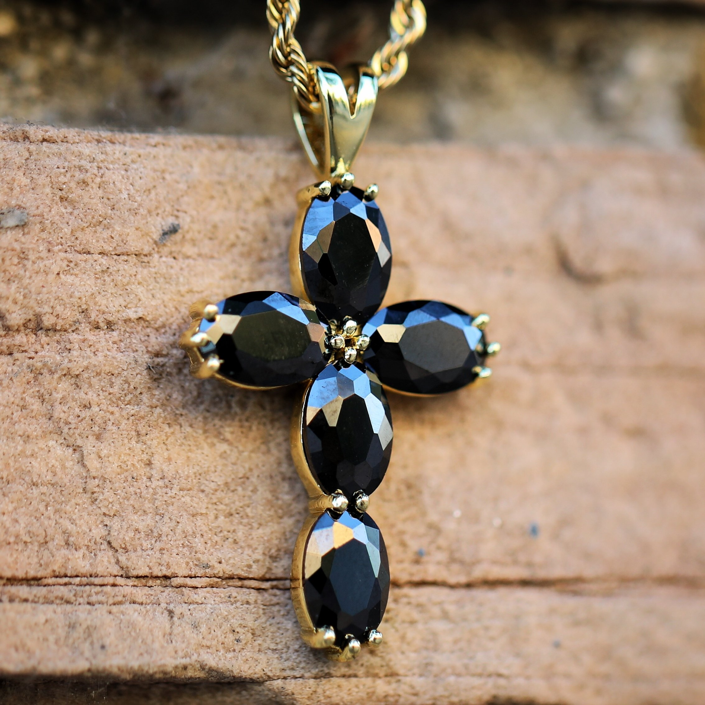 chains with pendant chain black tiaara onyx genuine natural pin