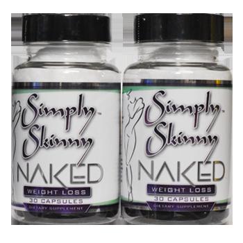 Simply Skinny Naked - 2 Pack Black