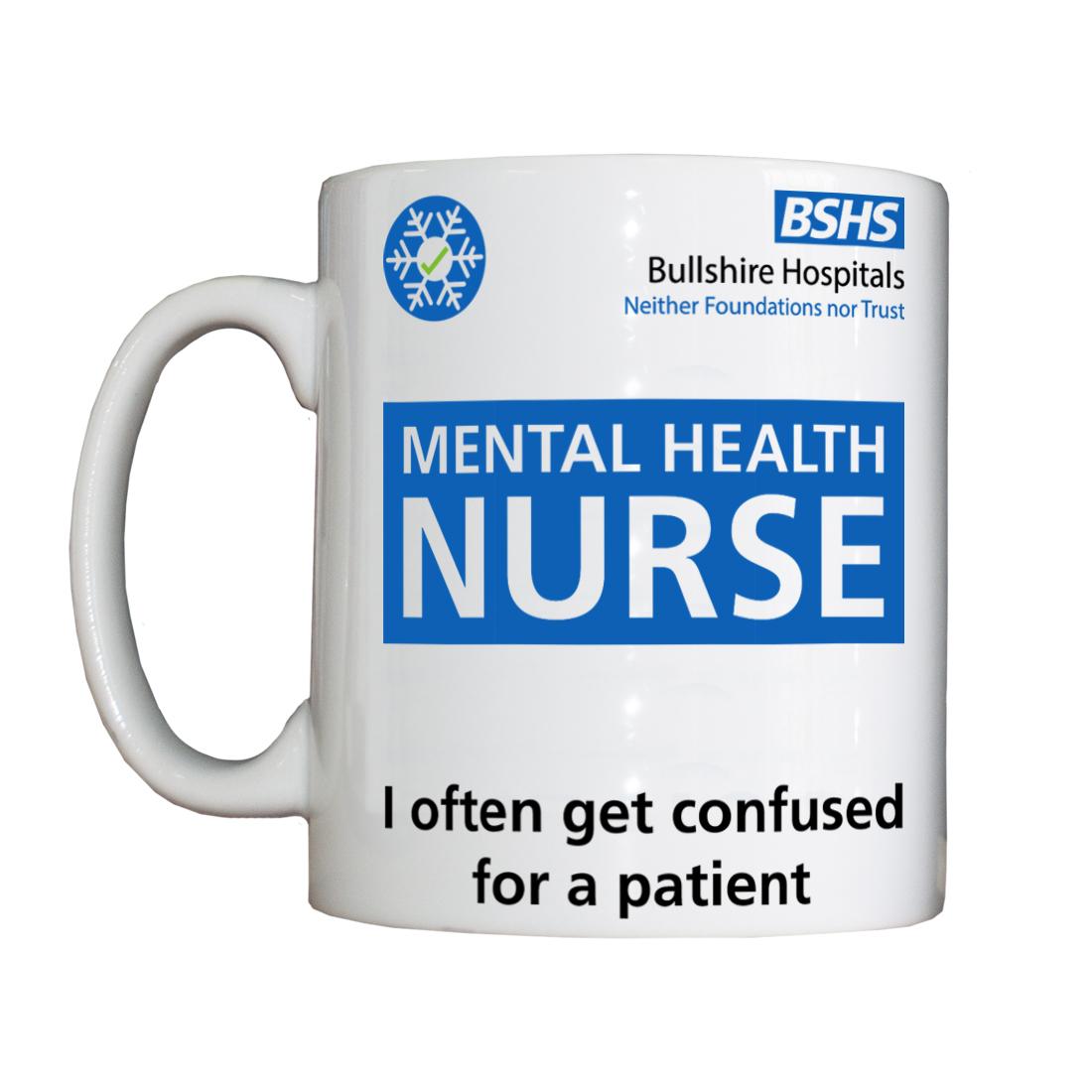 Personalised 'Mental Health Nurse' Drinking Vessel BSHSMentalHealthNurseVessel