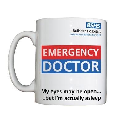 Personalised 'Emergency Doctor' Drinking Vessel