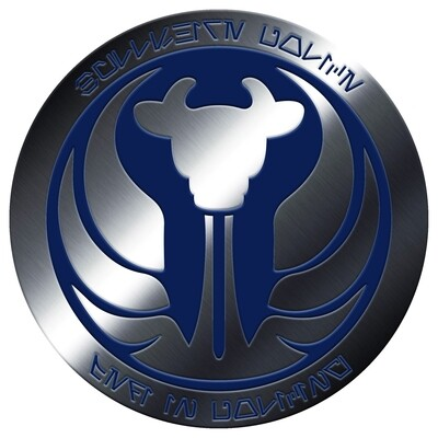 Jedi in Policing Pin Badge