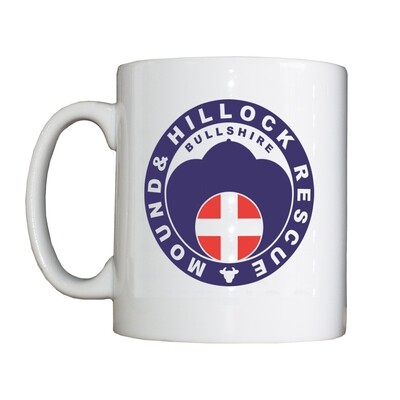 'Bullshire Mound and Hillock Rescue' Drinking Vessel