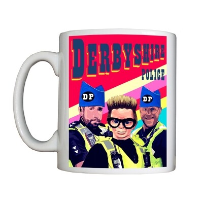 Personalised 'Derbyshire' Drinking Vessel