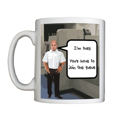 Personalised 'Busy Custody Sergeant' Drinking Vessel