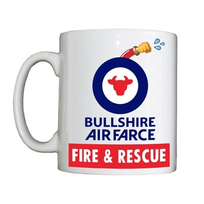 Personalised 'Bullshire Air Force FARS' Drinking Vessel