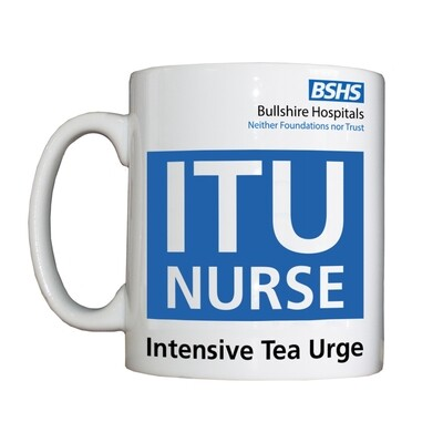 Personalised 'ICU / ITU' Drinking Vessel