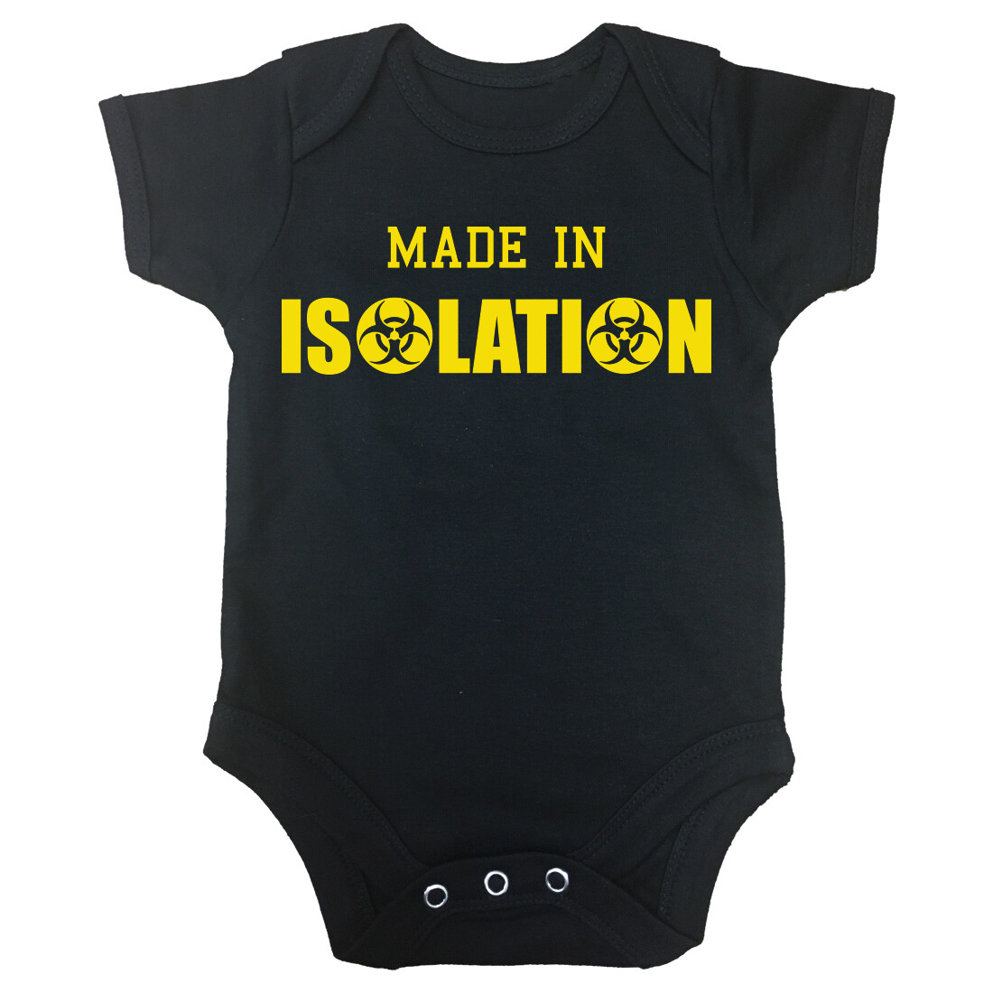 'Made in Isolation' Baby Grow