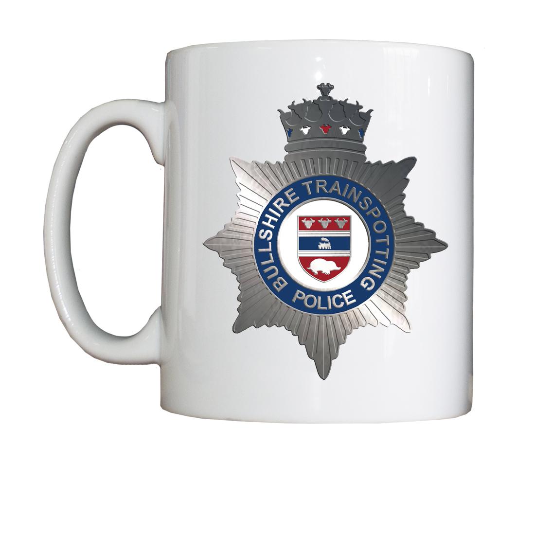 Personalised 'Bullshire Trainspotting Police' Drinking Vessel (Mug) BSTPMug