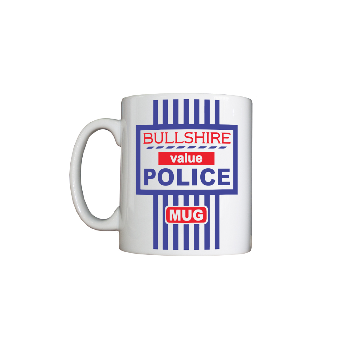 Personalised 'Bullshire Value' Drinking Vessel (Mug) BSValueCeramic